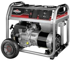 BRIGGS & STRATTON Portable Generator 5500 Rated W
