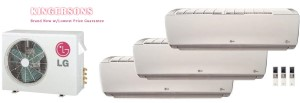 LG TRI ZONE LMU36CHV LSN120HSV4 (THREE) Ductless Split System