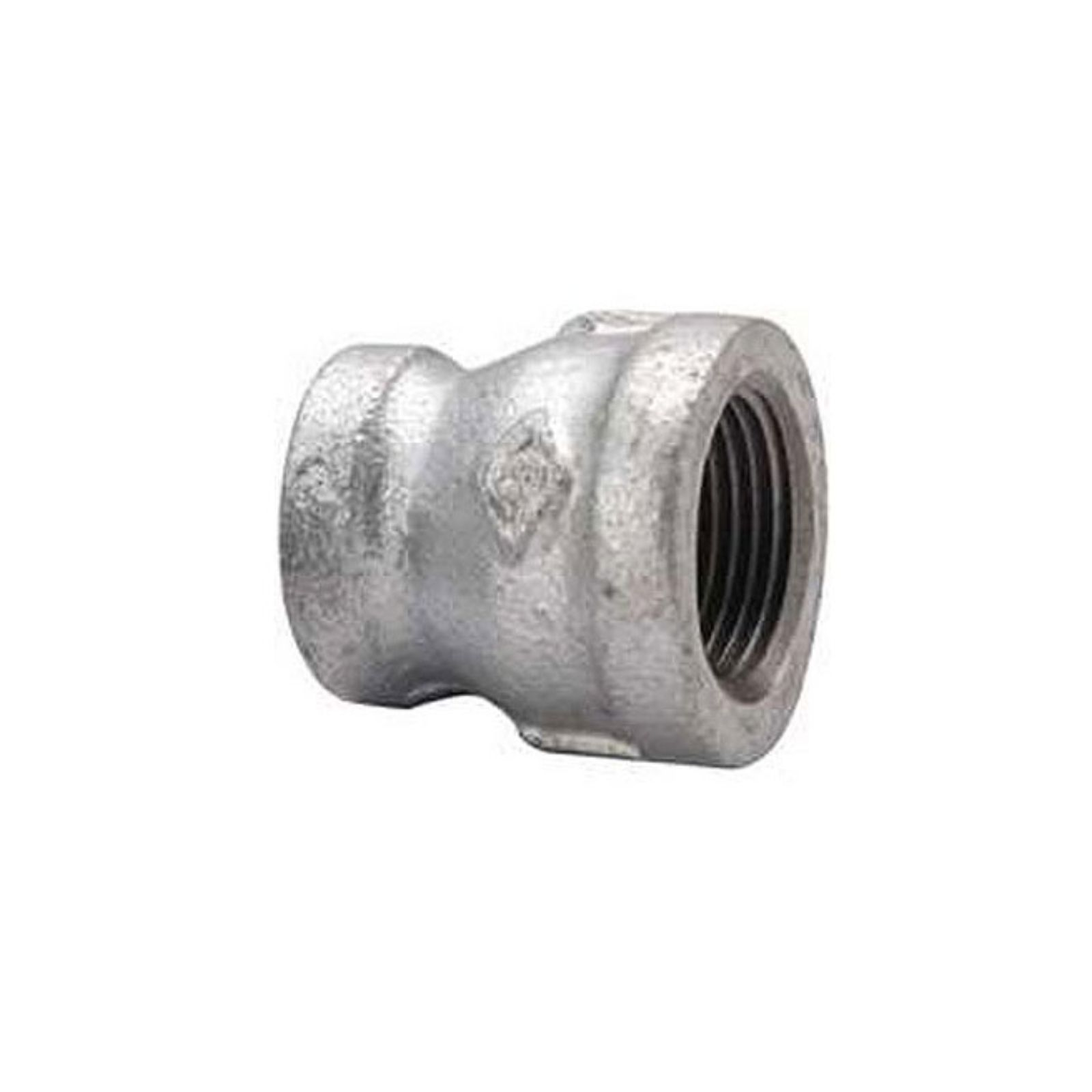 "Southland 511-343 - Galvanized Reducing Coupling, 3/4""I.D. X 1/2""I.D."