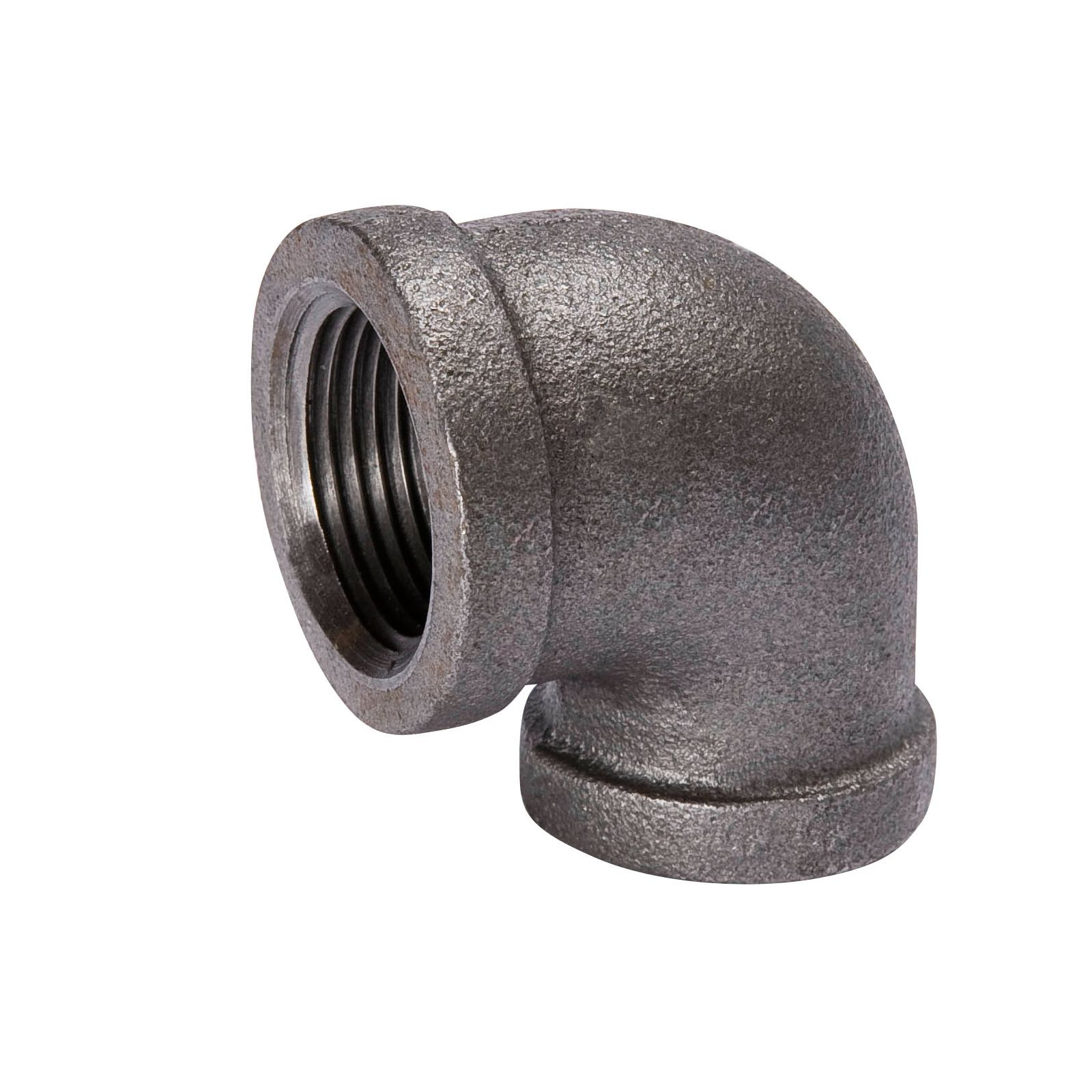 "Southland 520-143 - Black, 90 Degree Reducing Elbow, 3/4"" X 1/2"" I.D."
