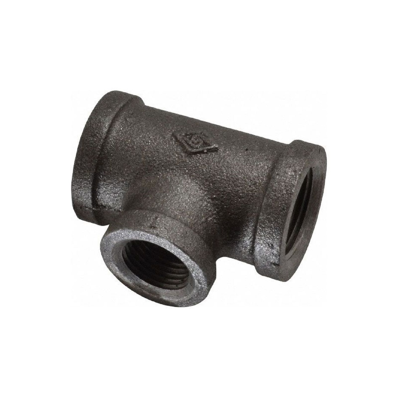 "Southland 520-743 - Black Reducing Tee, 3/4"" X 3/4"" X 1/2"" I.D."