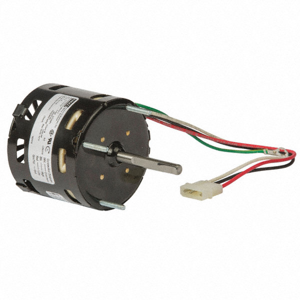 FASCO 1/50 HP Condenser Fan Motor, Shaded Pole, 1550/900 Nameplate RPM, 115 VoltageFrame Non-Standard