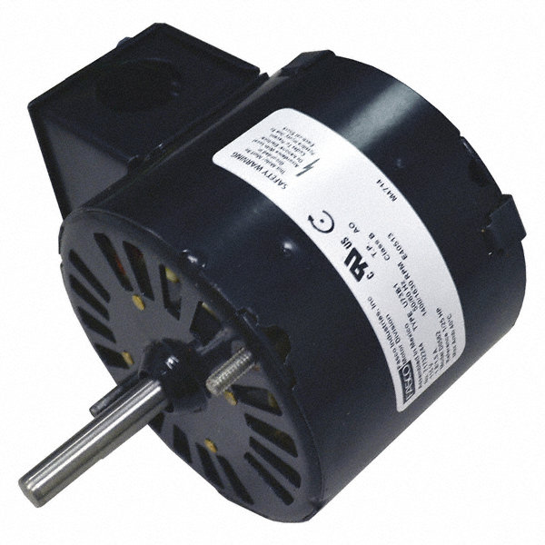 FASCO 1/25 HP Condenser Fan Motor, Shaded Pole, 1630/1400 Nameplate RPM, 115 VoltageFrame Non-Standard