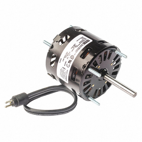 FASCO 1/20 HP Condenser Fan Motor, Shaded Pole, 1550 Nameplate RPM, 208-230 VoltageFrame Non-Standard