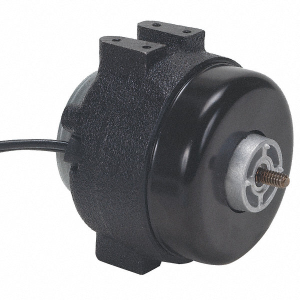 1/83 HP Unit Bearing Motor, Shaded Pole, 1550 Nameplate RPM,230 Voltage, Frame Non-Standard