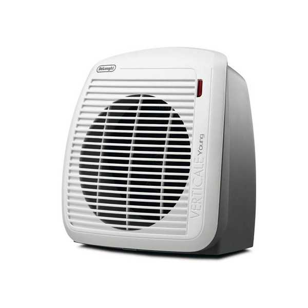 DeLonghi HVY1030 1500-Watt Fan Heater - Gray - white/gray