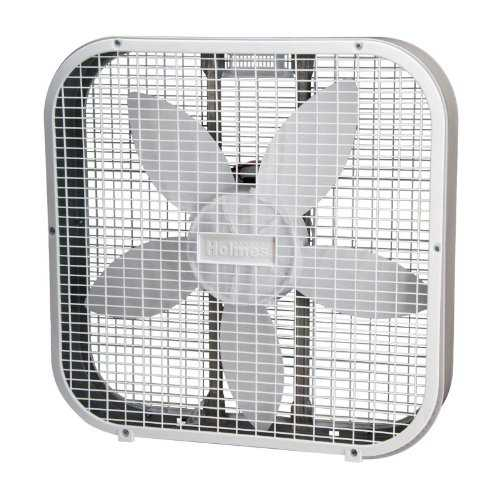 Jarden HBF2010AWMW Holmes HBF2010A-WM 20 Inch Box Fan, White