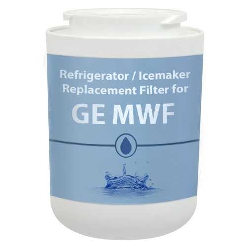 Replacement Water Filter Cartridge for GE PZS25KSESS Refrigerator