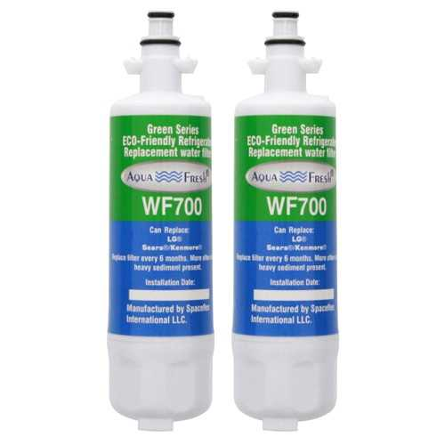 Aqua Fresh Replacement Water Filter Cartridge for Kenmore ADQ73613402 Filter - (2 Pack)
