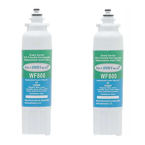 Replacement Filter for Aqua Fresh LT800P / WF800 (2-Pack) Replacement Filter