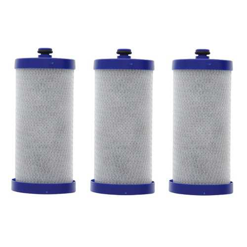 Replacement Water Filter Cartridge for Frigidaire Refrigerator FRS6R3EW4- (3 Pack)