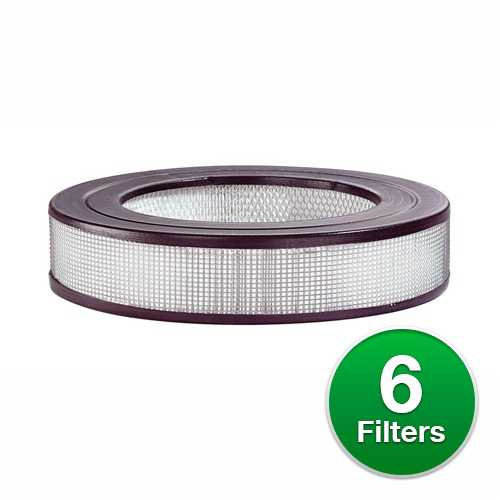 New Replacement HEPA Air Purifier Filter For Honeywell 17400 Air Purifiers - 6 Pack