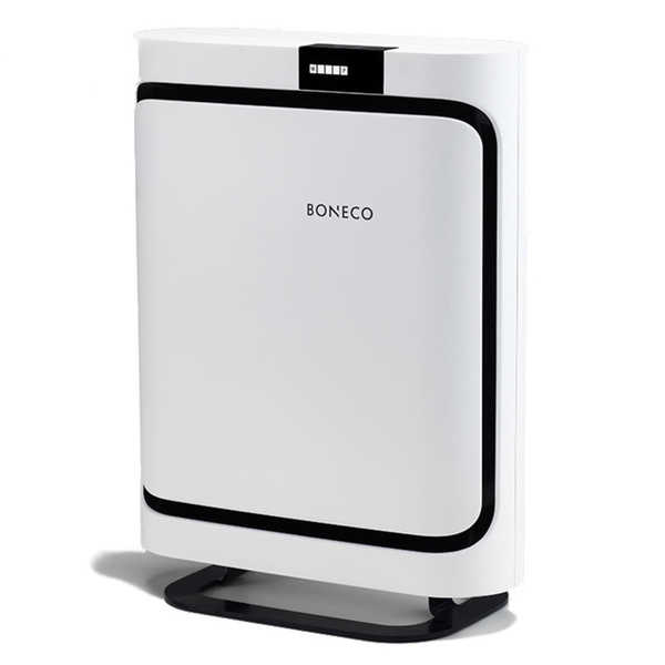 BONECO P400 White Air Purifier with HEPA and Activated Carbon Filter - white, black