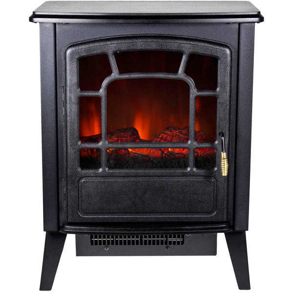 Warm House Bern 1400W Freestanding Electric Fireplace