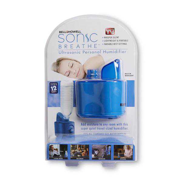 As Seen On TV 9786 Sonic Breathe Ultrasonic Personal Humidifier