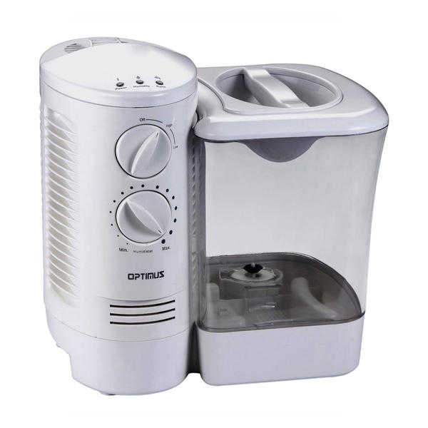 Optimus 32000 2.5 Gallon Warm Mist Humidifier with Wicking Vapor System