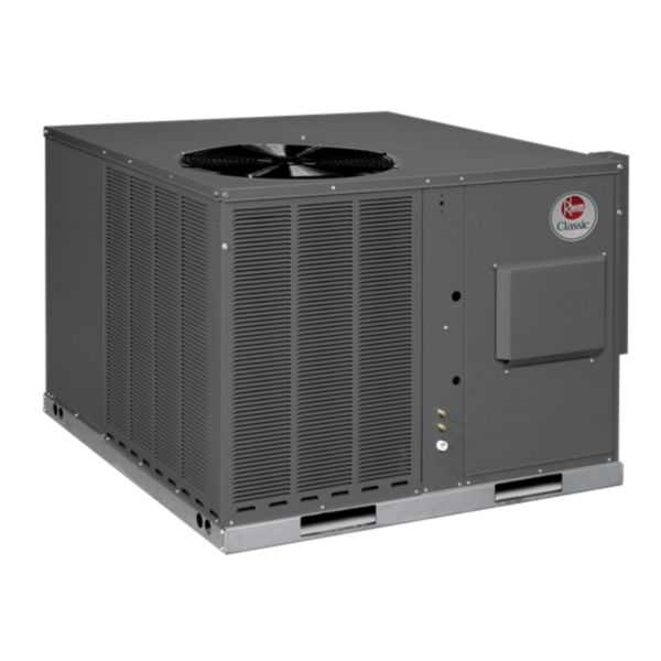 Rheem RGEA14042AJT08XAA - Classic 3 1/2 Ton 14 SEER Residential Packaged Gas/Electric Unit, 208-230/1/60