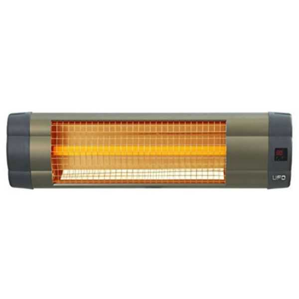 Bell Hudson - UFO - UK-15 - Electric Mid-Wave Infrared Heater with Remote Control - 110V
