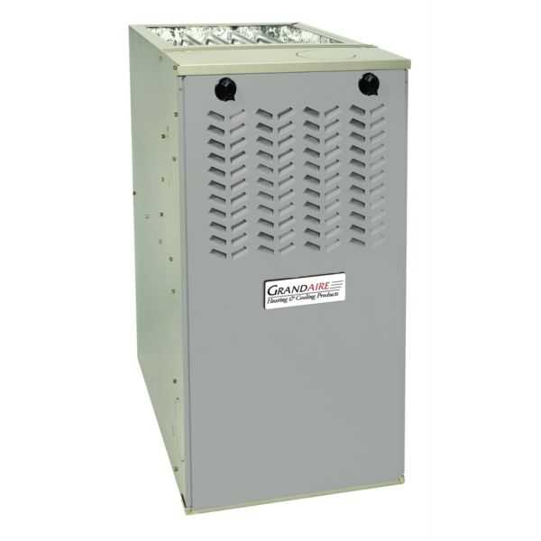 GrandAire - WFEL070B048A - Multiposition 80% AFUE Gas Furnace SS with X-13 Motor