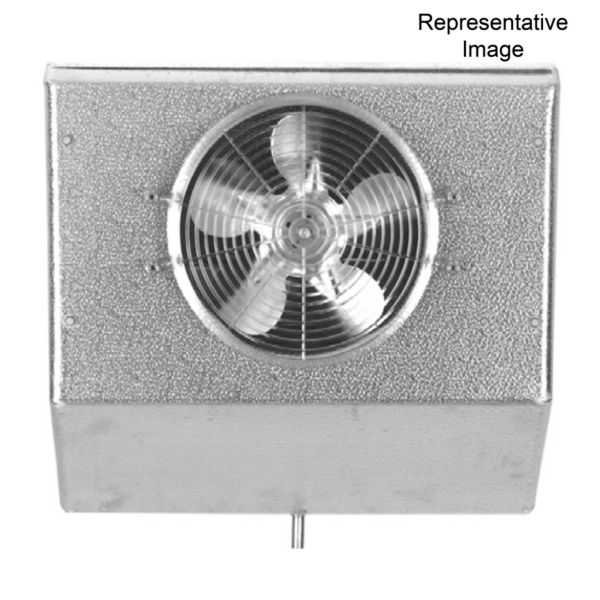 Heatcraft - Bohn - CK17AG - 17,000 BTUH High Profile Reach-In Unit Cooler: Coated 115/1/60