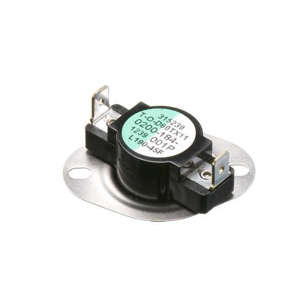PROTECH PD470040 - Limit Switch - Auto Reset (Flanged Airstream)