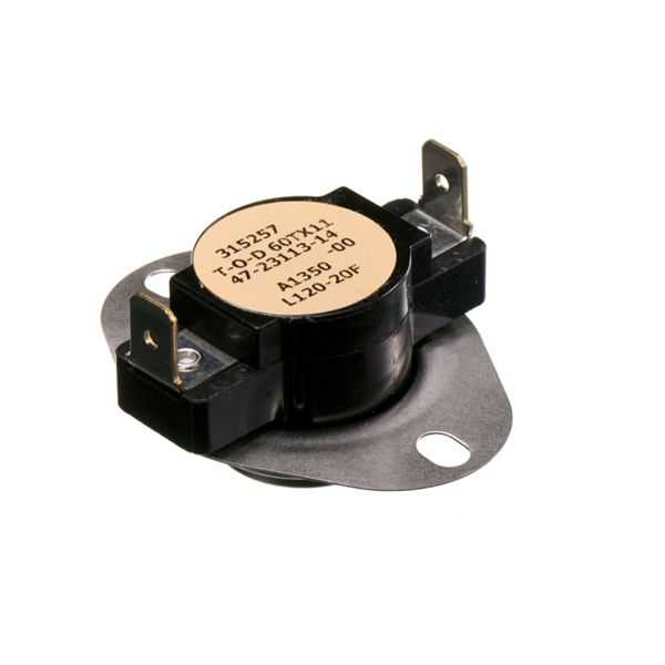 PROTECH 47-103895-02 - Limit Switch - Auto Reset (Flanged Airstream)