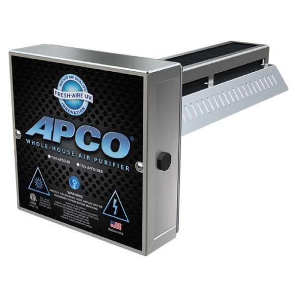 Triatomic TUV-APCO-DER2 - Two Year Lamp, with 2nd Remote Lamp (18-32 VAC series)APCO In-Duct