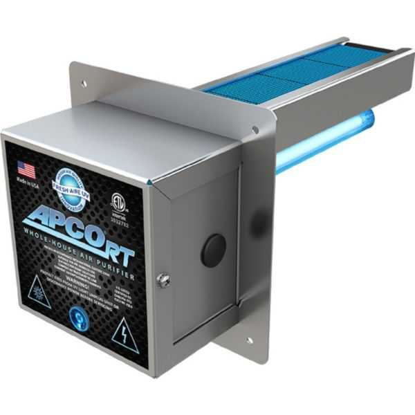 Triatomic TUV-APCO-RT-MG-ER2 - Fresh Aire In Duct UV Air Purifier, Low Voltage with 2 Year Lamp