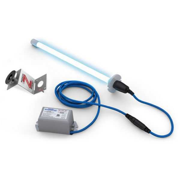 Fresh-Aire TUV-BTST2 - Blue-Tube UV from Fresh-Aire UV, 110-277 VAC power supply and 2 year UV-C lamp