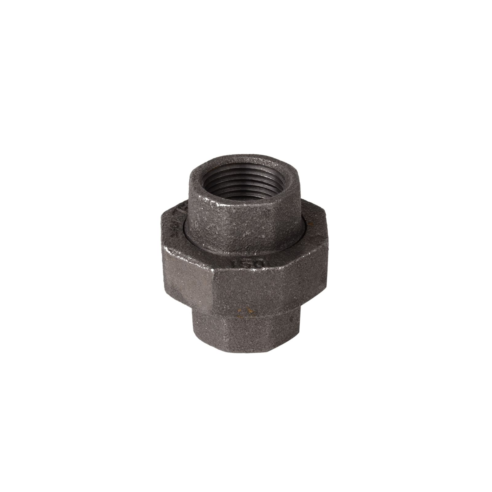 "DiversiTech BPF-32 - Black Malleable Iron Fitting,  3/4"" Union"