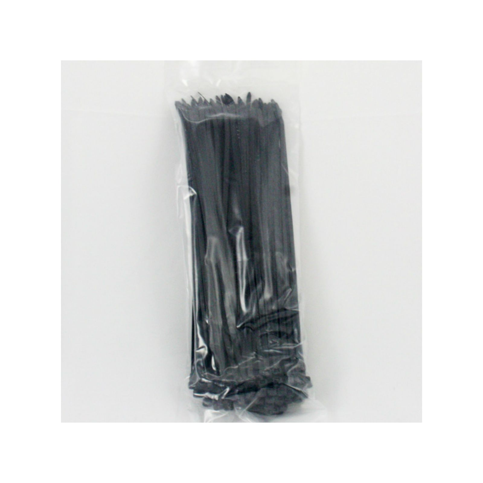 "Cambridge CT11-50C0W - 11"" Cable Ties, 50 lb. Tensile Strength, UV Black, 100 Pack"