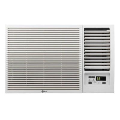 18,000 BTU 230/208-Volt Window Air Conditioner with Cool, Heat and Remote